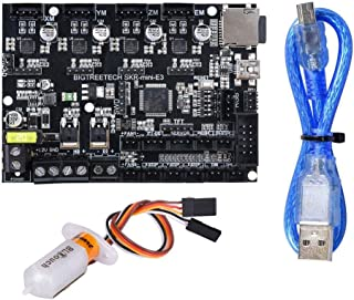 BIGTREETECH SKR Mini E3 V1.2, placa de control 32 bits con controlador UART TMC2209 piezas de impresora 3D Cheetah para Cr...