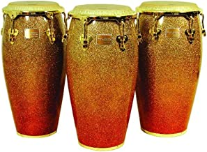 Tycoon Percussion 12 1/2 Inch Master Platinum Sunrise Series Tumba With Single Stand