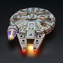 LIGHTAILING Light Set for (Star Wars Millennium Falcon) Building Blocks Model - Led Light kit Compatible with Lego 75105(N...