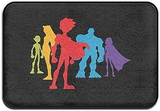 ForestInsect Teen Titans Go Logo Indoor Outdoor Floor Mat Doormats