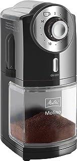 Melitta Molino elektrisk kaffekvarn 1019-02: smidig och användarvänlig kaffekvarn som ger ett perfekt färskmalet kaffe til...