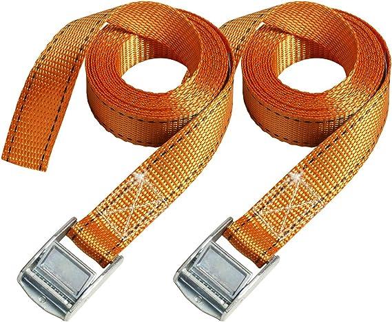 Master Lock 3210eurtat Fastlink Spanngurt Mitzamak Legierten Bügel Orange 2 5m X 25 Mm Gurt 2 Er Set Baumarkt