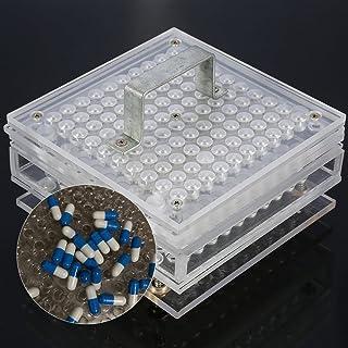 000# 00# 0# 1# 2# 3# 4# 5# 100 gaten handmatige capsules vulmachine capsule vuller vitaminen kruiden poeder pillen voor do...