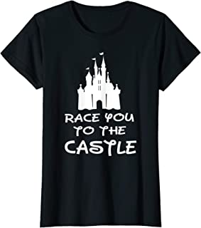 race you to the castle t shirt