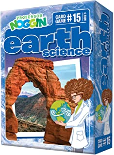 Professor Noggin's Earth Science Trivia Card Game - an Educational Trivia Based Card Game for Kids - Trivia, True or False...