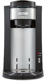 BELLA (14392) Dual Brew Single Serve Coffee Maker, Silver/Black