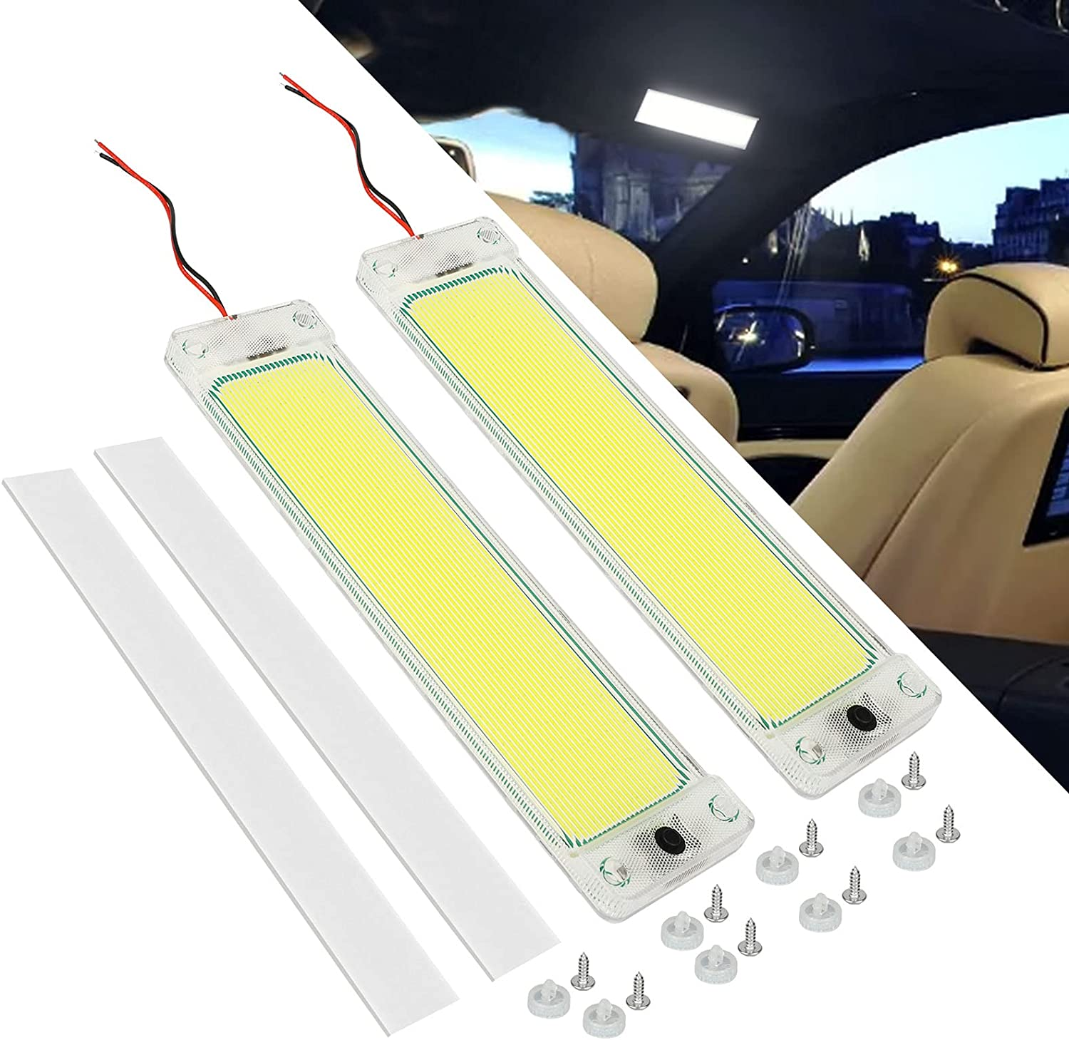 Linkstyle 2Pcs RV Interior Lighting Free shipping anywhere in the nation New item LED Light 12W 1 Bar