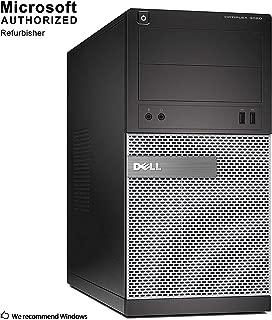 2018 DELL OPTIPLEX 3010 Mini Tower Computer PC Intel Core i5 3470 up to 3.6G, 16G, 240G SSD, DVD, VGA,HDMI, Win 10 Pro 64 bit-Multi-Language Support English/Spanish/French(CI5)(Renewed)
