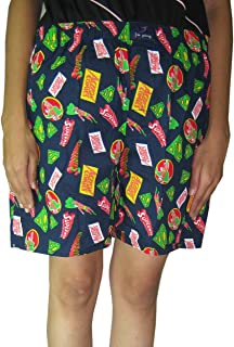 Goodluck Elasticated Printed Women's Shorts Size: L Waist Size 40 inch in relax