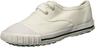 Sparx Boy's White School Shoes-8 Kids UK (25 EU) (NT0004K_WHWH0008)