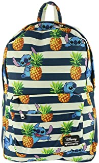Stitch and Stripe Backpack Navy-White