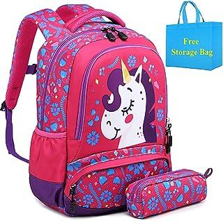 Mochila Escolar Niña Bolsa Unicornio Sets de Mochila
