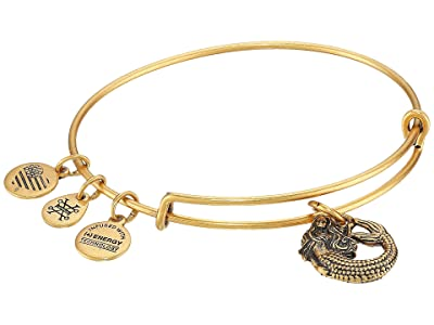 Alex and Ani Seaside Mermaid II Bangle (Rafaelian Gold) Bracelet