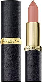 L'Oréal Paris Colour Riche Matte Lipstick, Velvet Smooth, with Precious Camellia and Jojoba Oils, 633 Moka Chic