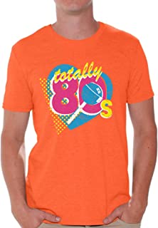 Awkward Styles 80s Shirts 80s Costumes for Men Vintage Retro Neon 80s T Shirt