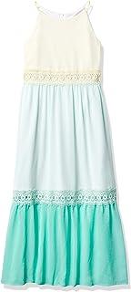 فستان Amy Byer طويل برقبة عالية للفتيات