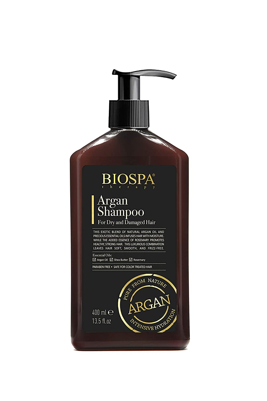 Bio Spa: ARGAN SHAMPOO for Dry fl.oz and 400ml Hair Recommendation Damaged 13.5 Sale price