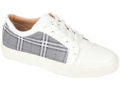 Journee Collection Comfort Foamtm Taschi Sneakers (Grey) Women