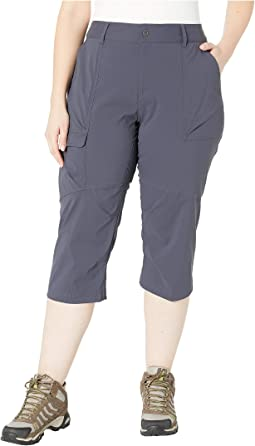 Plus Size Silver Ridge Stretch Capris II