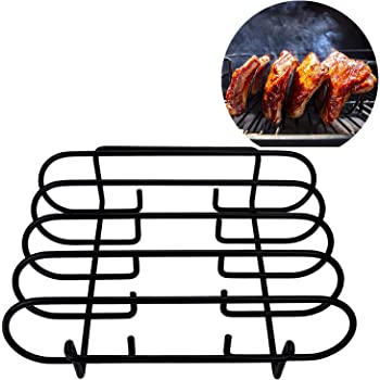 Grill Dome Kamado Joe Broilmann Stainless Steel Rib and Roasting Rack and all indoor ovens For use with Big Green Egg Primo Vision