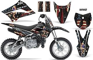 Kawasaki KLX110L 2010-2018 MX Dirt Bike Graphic Kit Sticker Decals KLX 110 L WW2