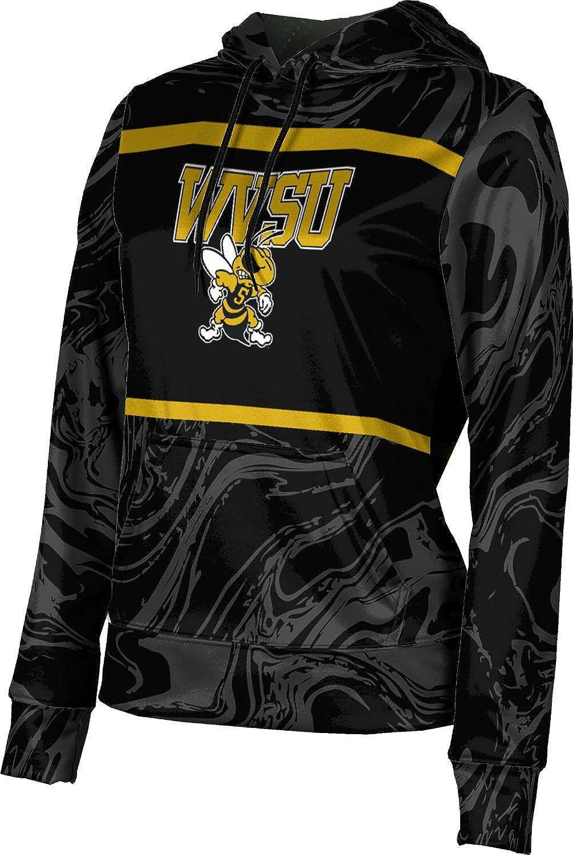 ProSphere West Virginia State University Girls' Pullover Hoodie, School Spirit Sweatshirt (Ripple)