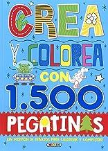 Crea y colorea con 1500 pegatinas