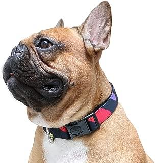 wide nylon dog collars