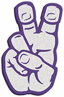 Root Sportswear TCU Horned Frogs Texas Christian University Knuckle Up Hand Sign Foam Hand/Foam Finger