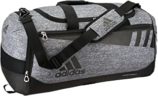 adidas Unisex Team Issue Medium Duffel Bag, Onix Jersey/Black, ONE SIZE