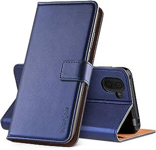 AQUOS R3 ケース AQUOS R3 手帳型ケース 対応 PUレザー カード収納 横置きスタンド機能付き マグネット式 耐衝撃 耐摩擦 全面保護 Aquos R3 SHV44/SH-04L スマホケース [Hianjoo] [ブルー]