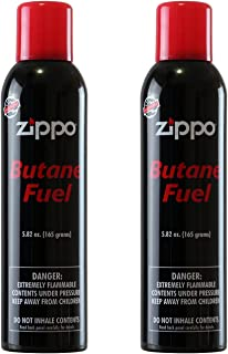 Zippo Butane Fuel, 5.82 oz, 2 Pack