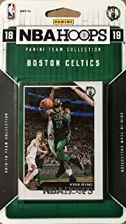 Boston Celtics 2018 2019 Hoops Basketball Factory Sealed 9 Card Team Set with Kyrie Irving, Gordon Hayward and Jayson Tatum Plus