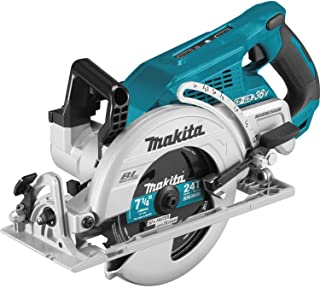 """Makita XSR01Z 18V X2 LXT Lithium-Ion 36V Brushless Cordless Rear Handle 7-1/4"""" Circular Saw, Tool Only (Renewed)"""
