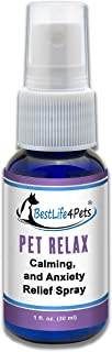 Calming Anxiety Relief for Dogs; All Natural Pet Stress Aid Eases Your Dog and Cat's Separation Anxiety and Reduces Their Fear of Car Rides, Vet Visits, and Thunder Storms