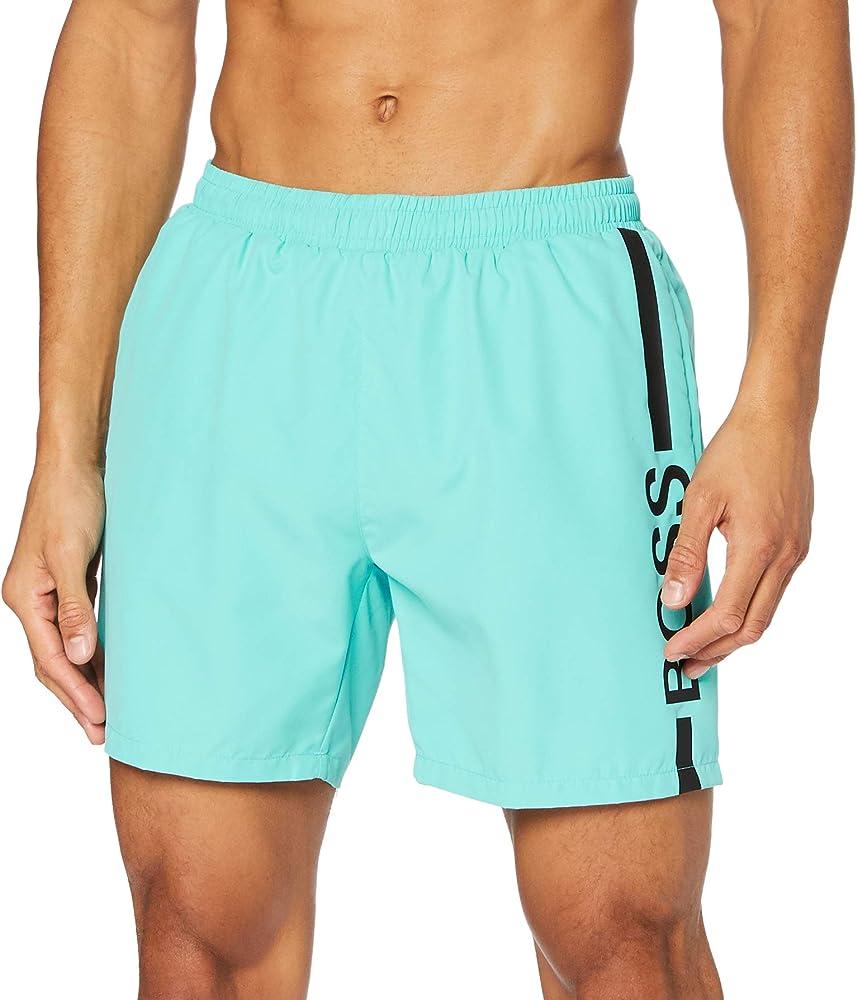 Boss dolphin,costume da bagno per uomo a pantaloncini,100% poliestere 50437375A
