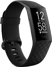 Fitness-Tracker Fitbit Charge 4 mit GPS, Schwimmtracking & bis zu 7 Tage Akkulaufzeit, Schwarz