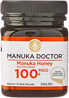 Manuka Doctor マヌカハニー MGO100+ 250g ニュージーランド産 MANUKA HONEY100% 国内正規品