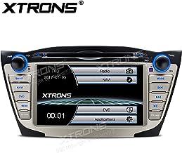 XTRONS 7Inch HD Digital pantalla táctil coche reproductor de DVD para coche Radio estéreo pantalla Mirroring función de navegación GPS para Hyundai Tucson ix35