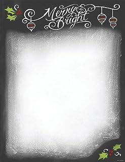 "Great Papers! Chalkboard Letterhead, 80 count, 11"" x 8.5"" (2014046)"