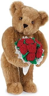 Vermont Teddy Bear Rose Bear - 15 Inch, Classic