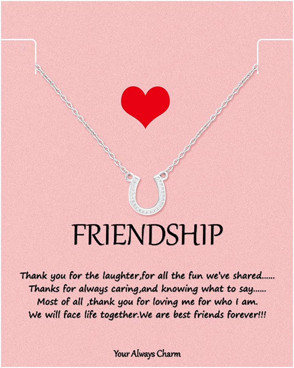 Your Always Max 74% OFF Charm Cactus Necklace with G Popular popular BFF Friendship