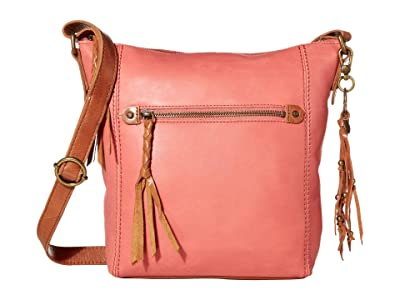 The Sak Ashland Crossbody (Dusty Coral) Cross Body Handbags
