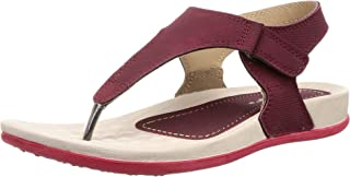 WELCOME Women's Leather Flip-Flops