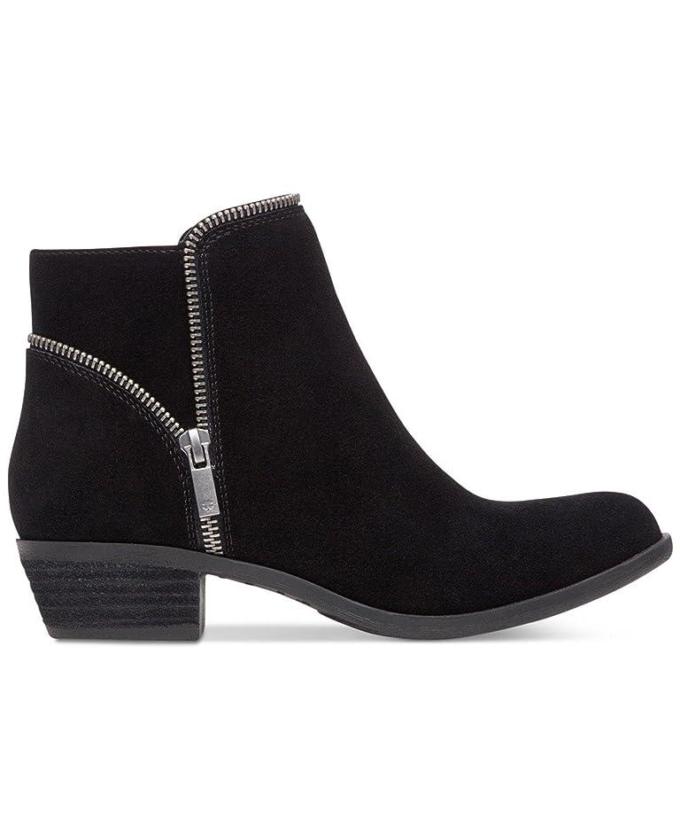 痛い南店主Lucky Brand Womens Boide Closed Toe Leather Fashion Boots, Black, Size 8