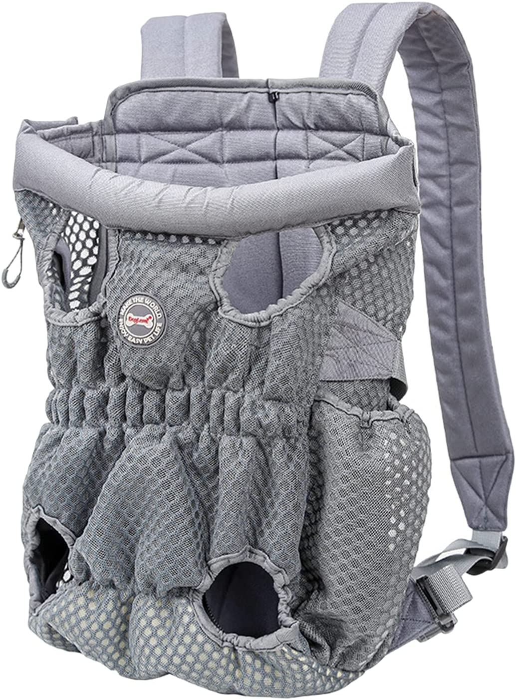 Dolity Portable Outlet SALE Dog Front Carrier Breathable Backpack Legs Out Classic
