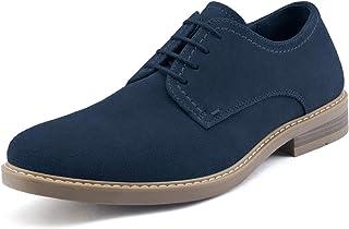 Bruno Marc Men's Suede Leather Lace Up Derbys Brogues Shoes