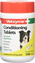 Vetzyme Conditioning Tablets For Dogs Pot Size: 100 Tablets
