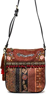 Luxury Fashion | Desigual Womens 19WAXAAHBROWN Brown Shoulder Bag | Fall Winter 19