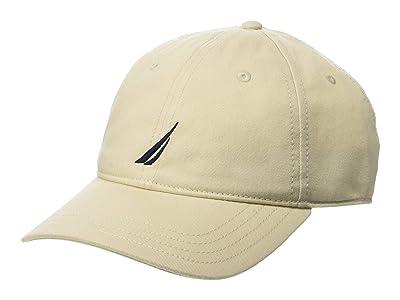Nautica Chino Twill J-Class Cap (Oat) Caps